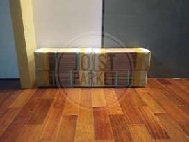 lantai kayu flooring kempas tebal 1,5cm