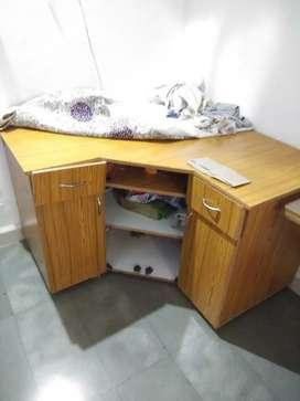 Corner Table Wooden