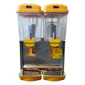 Mesin Pendingin Minuman Jus / Juice Dispenser 2 Tabung GEA LP 12x2