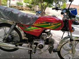 Ghani 70cc self start new condition bike is avalible now