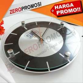 jam dinding stainless tipe 3030 AL cocok untuk promosi