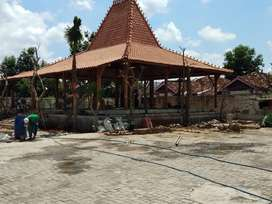 Jual Rumah Jawa Kayu Jati Joglo dan Jual Rumah Limasan
