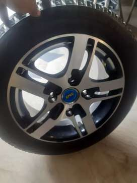 Alloy rim and tyres 13 size
