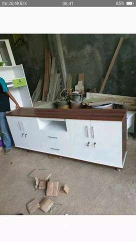 Meja tv minimalis ukuran 2meter, harga promo