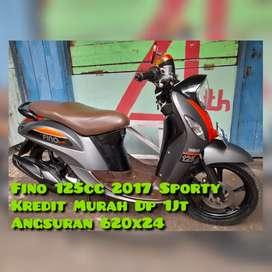 Fino Sporty 125cc 2017 Doff Favorit