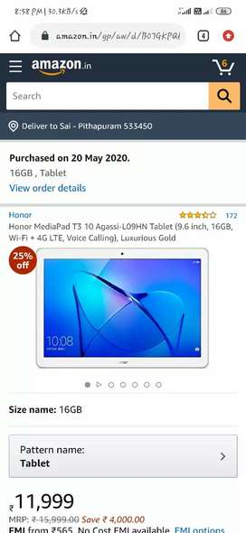 Honor tablet good condition no problem