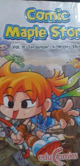 Comic Maple Story VOL.4: Terdampar di negeri ellinia