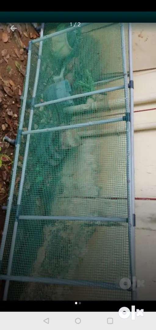 Sturdy, hardly-used, neat, perfect fence/railing 0
