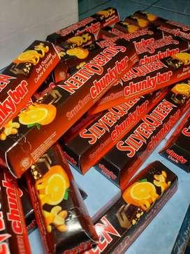 Cuci Gudang - SilverQueen Chunkybar Orange 100 gram