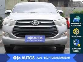 [OLX Autos] Toyota Kijang Innova 2.4 G Solar M/T 2016 Silver