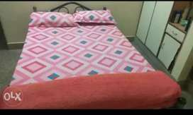 Cot with bed