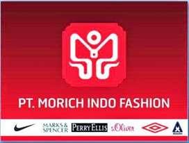 Lowongan Kerja PT Morich Indo Fashion