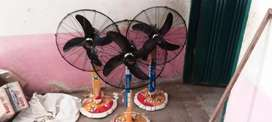 Stand wala fan color black 100% Pure copping