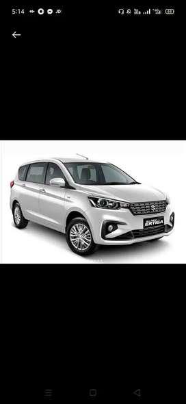 Brand New car Ertiga in lowest downpyment