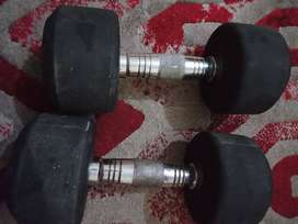 Used Dumbells 8kg Pair in good condition can negotiate