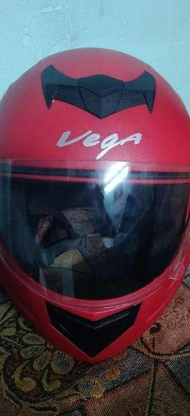 Vega helmet Red Colour