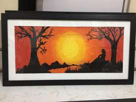 Beautiful painting frame for office