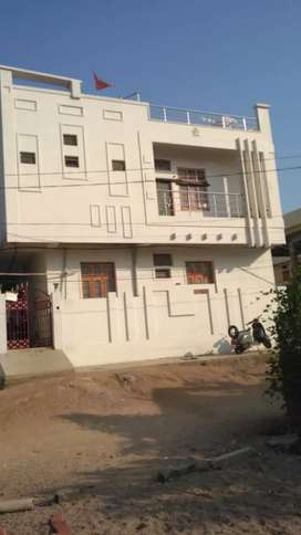 Building with 4 big two bhk houses built in 2floors with good quality