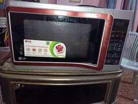 It's a LG microweb minimally used with proper part it has easy cooking