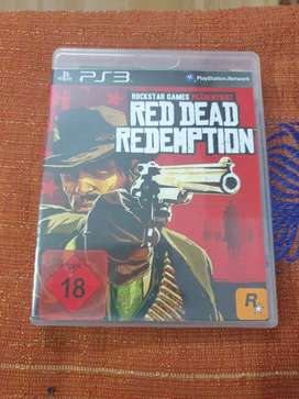 Red dead redemption ps3 disk