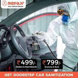 Doorstep Car Sanitization - Repayr