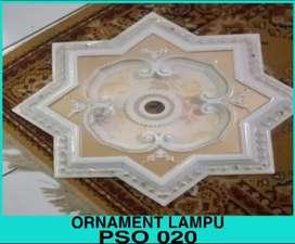 Ornament lampu mewah,ornamen pvc
