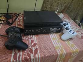 Ps2 with 3 FRESH REMOTE