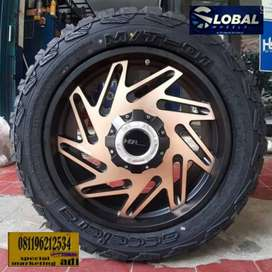 VELG MOBIL FORTUNER PAJERO FORD RANGER R20 DI GLOBAL
