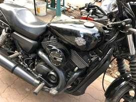 Harley street 750 new brand condition dec 25 2016