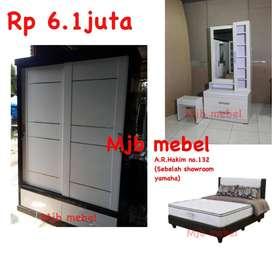 Mjb mebel - HOT ITEM set isi kamar kayu slidding berkualitas