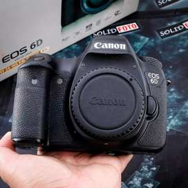 Canon 6D Wifi. Body Only. Fullset. murah banget. ex DS