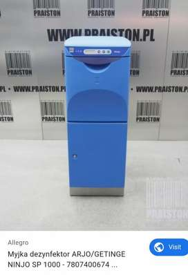 Bed patient hygen washer for hospital