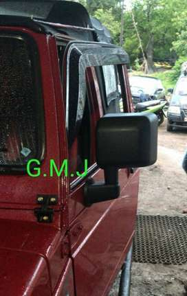 Wrangler side mirrors gypsy jeep thar mm550 Head