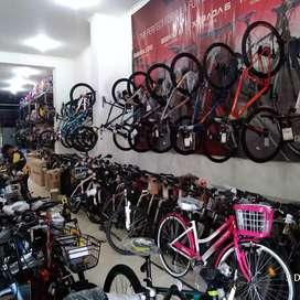 Sepeda siap di Kredit Maning