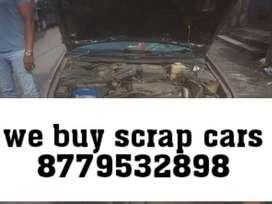 Dusty rusty scrap old car buyer