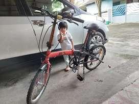 Sepeda lipat wim cycle murah
