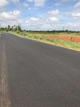 Agricultural land road base 7 lakh per acer