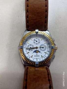 jam tangan eden moonphase swiss  no breitling