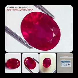 natural ruby burma