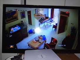 Paket kamera cctv AHD 1 camera 3mp full HD KOMPLIT 4 ch