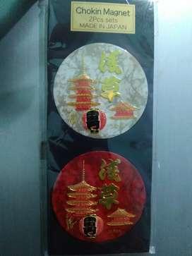 Yang mau koleksi magnet kulkas atau tempelan kulkas dari Jepang