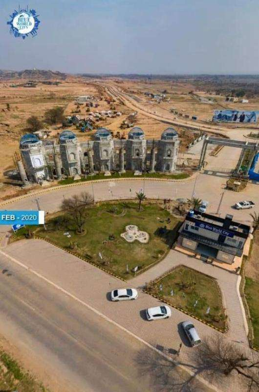 10 Marla Residential Plot For Sale At Discount Rate In Blue World City