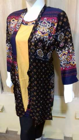 GOWN STYLE KURTIES