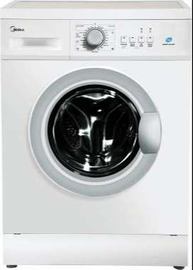 Midea 7 kg Garment Sterilization Fully Automatic Front Load with In-bu