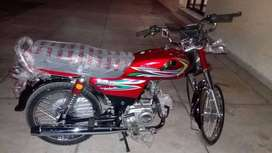 crown 70cc new  gifted bike