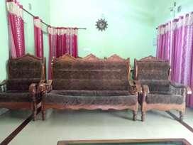 Sofa set 1double with 2 single