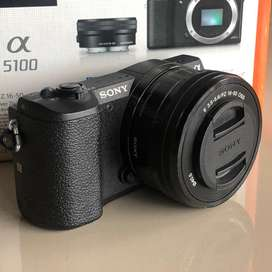 Mirrorless Sony A5100 Lensa 16-50 OSS