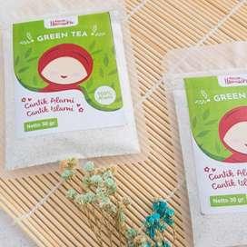 GREEN TEA MASK HUMAIRA