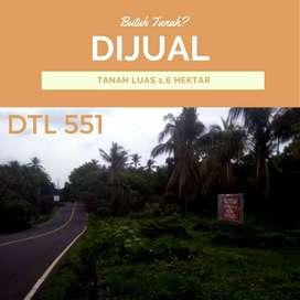 DTL 551 Lahan luas untuk invesstt Di Bali