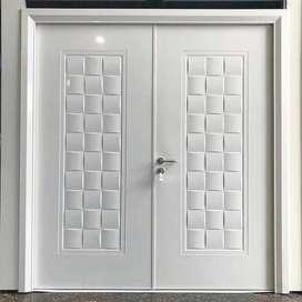 pintu besi/ steel door